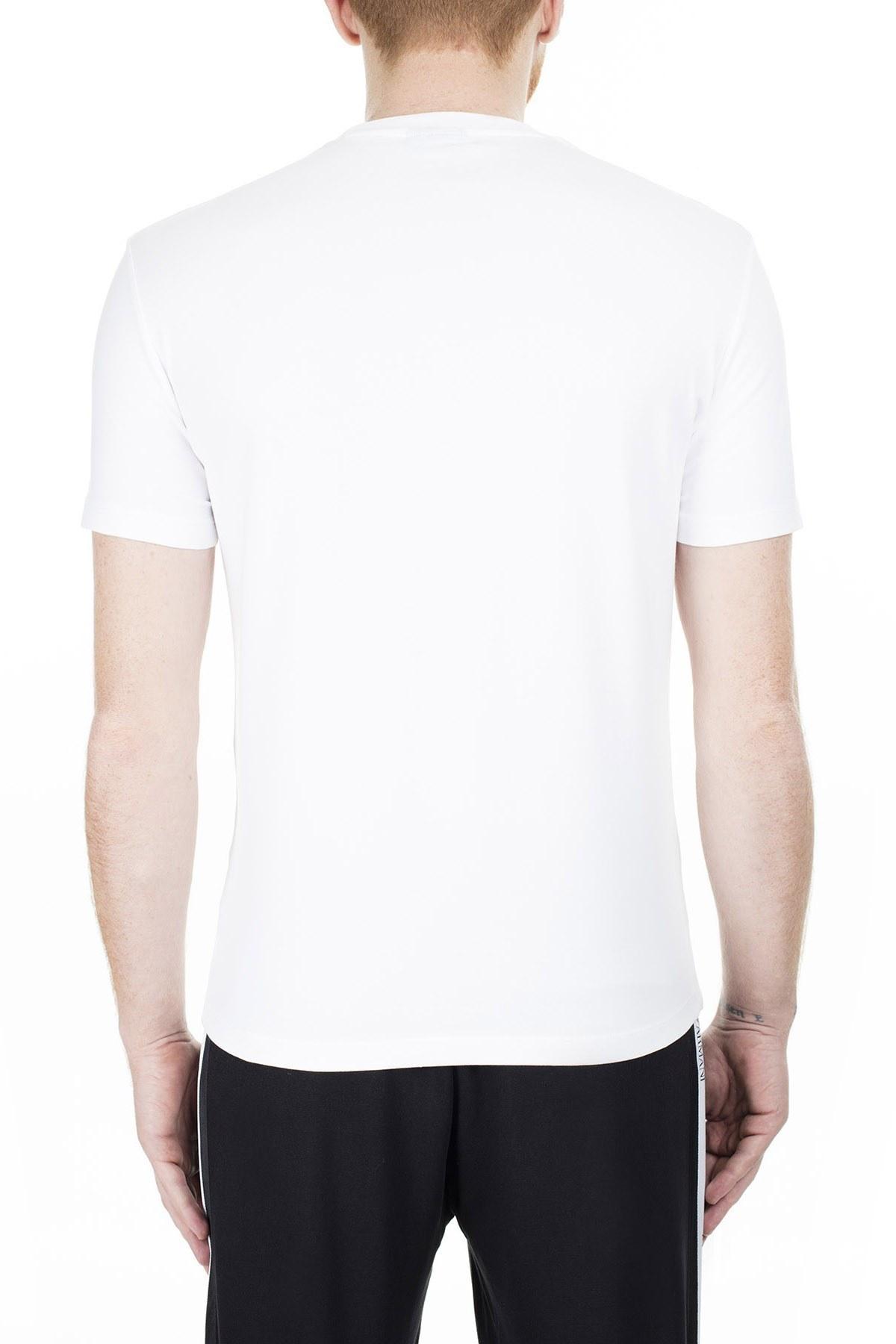 Emporio Armani Erkek T Shirt 3H1T70 1J37Z 0102 BEYAZ