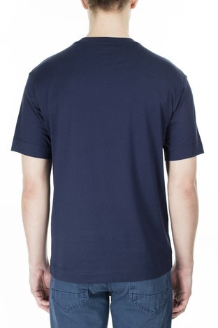 Emporio Armani - Emporio Armani Erkek T Shirt 3H1TM4 1JCQZ G919 LACİVERT (1)