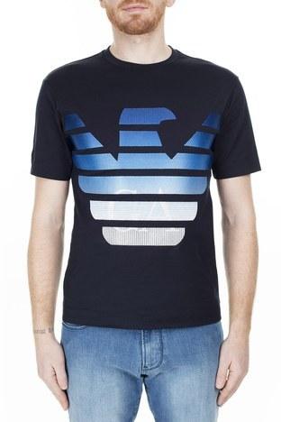 Emporio Armani - Emporio Armani Erkek T Shirt 3H1TN6 1JCQZ F989 LACİVERT