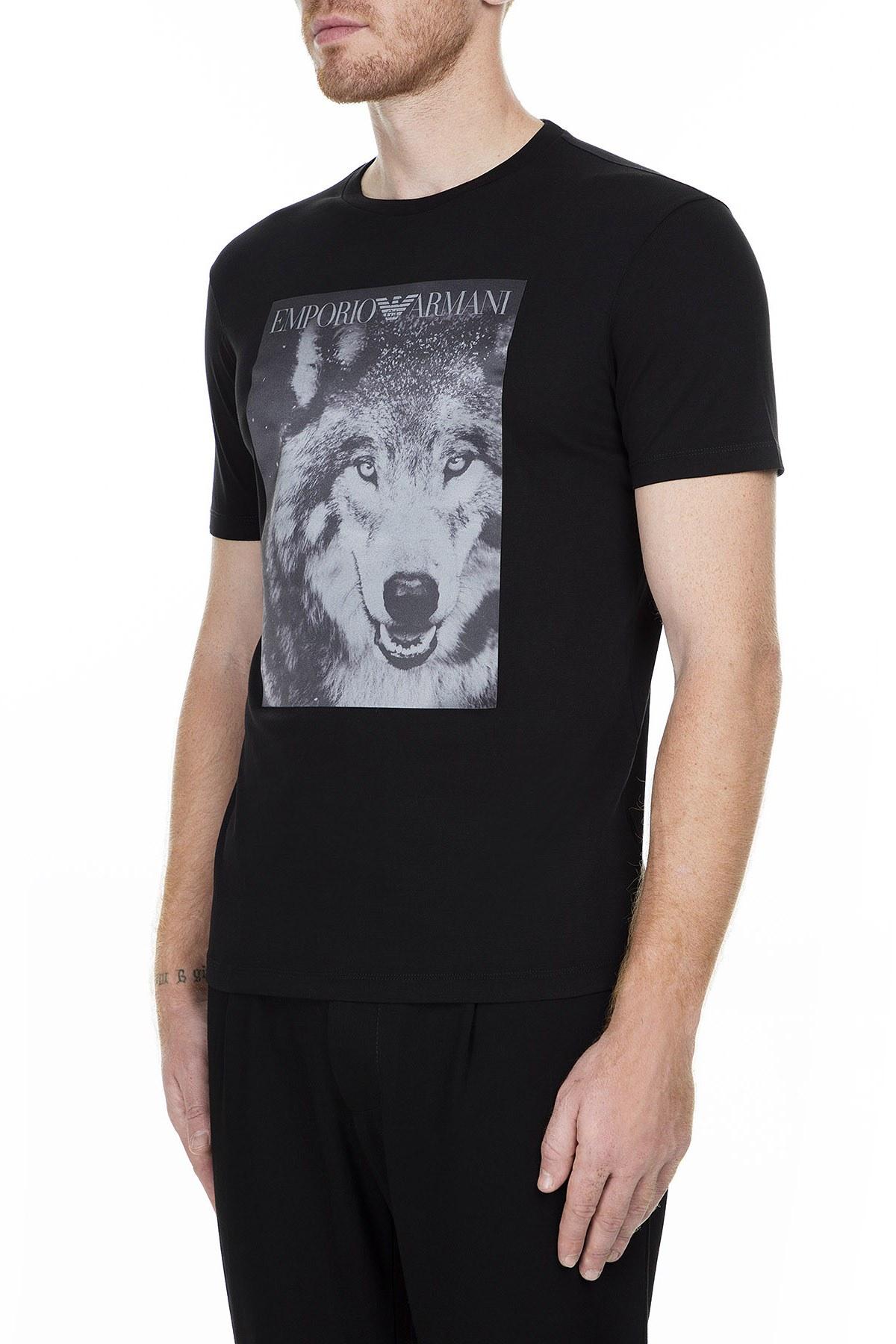 Emporio Armani Erkek T Shirt 6G1T77 1J19Z 0999 SİYAH