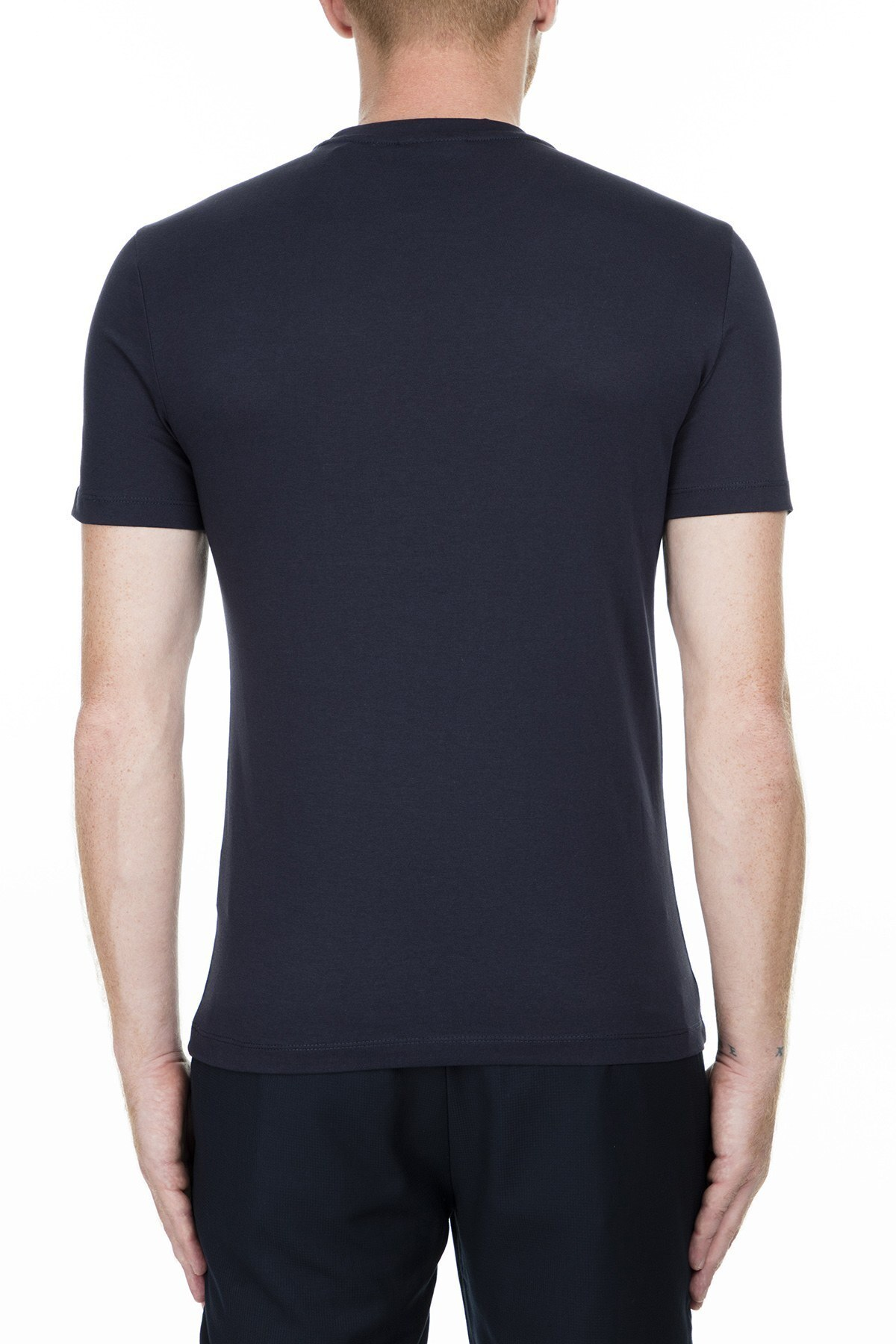 Emporio Armani Erkek T Shirt 6G1TC3 1J00Z 0922 LACİVERT