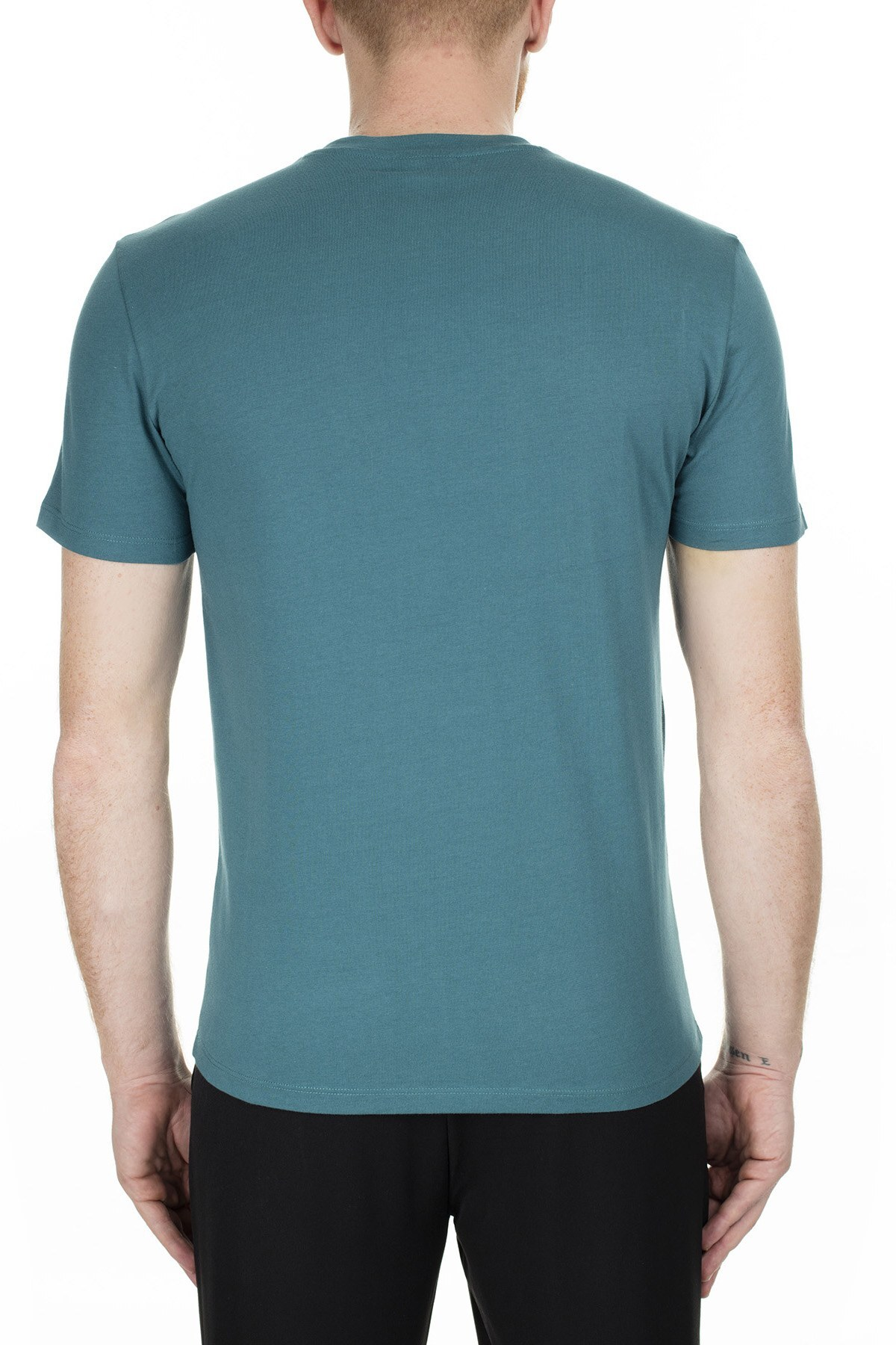 Emporio Armani Erkek T Shirt 6G1TC4 1J00Z 0956 PETROL