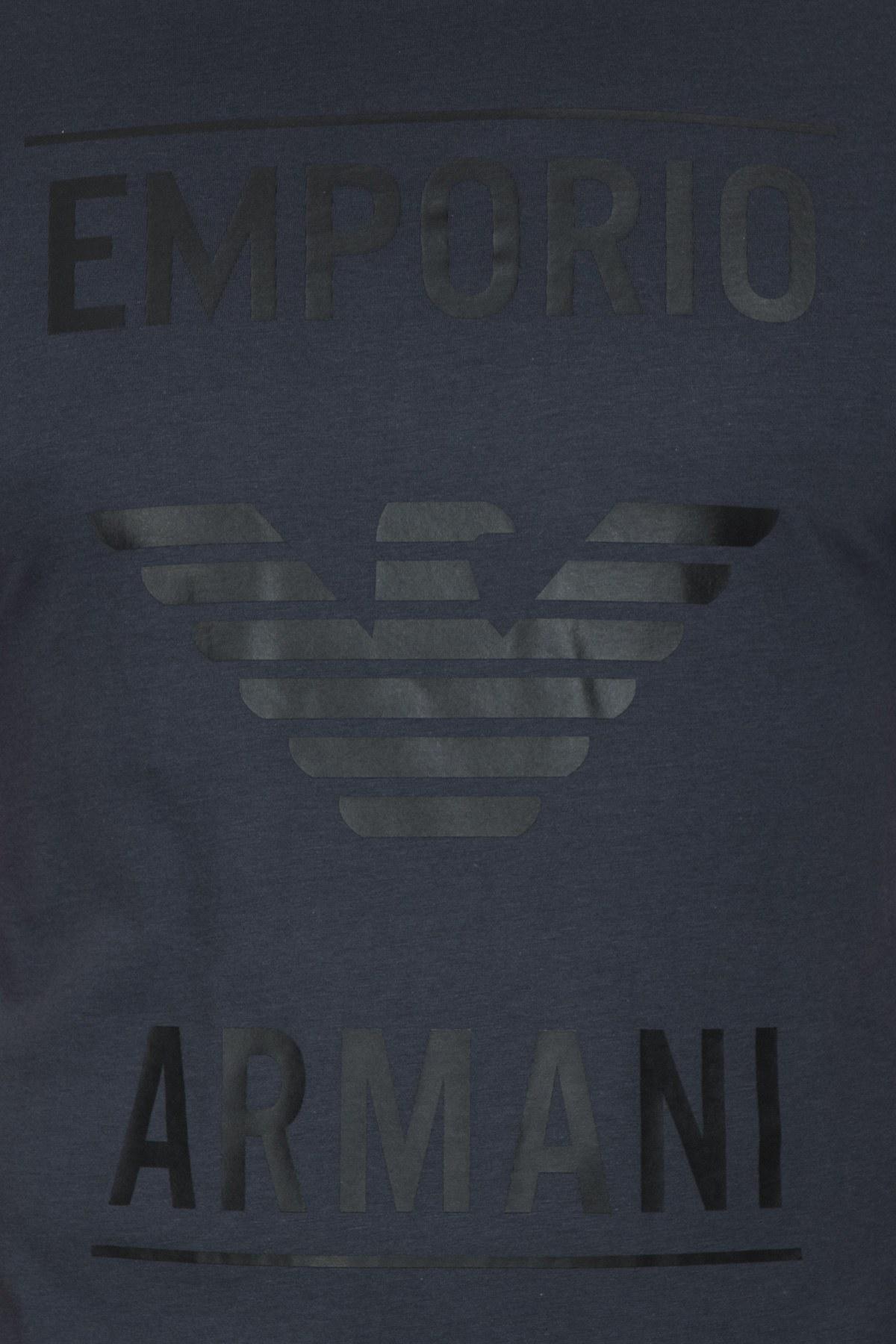 Emporio Armani Erkek T Shirt 6G1TE7 1JNQZ 0960 LACİVERT