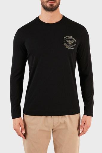 Emporio Armani Erkek T Shirt 6K1TN9 1JPZZ 0999 SİYAH