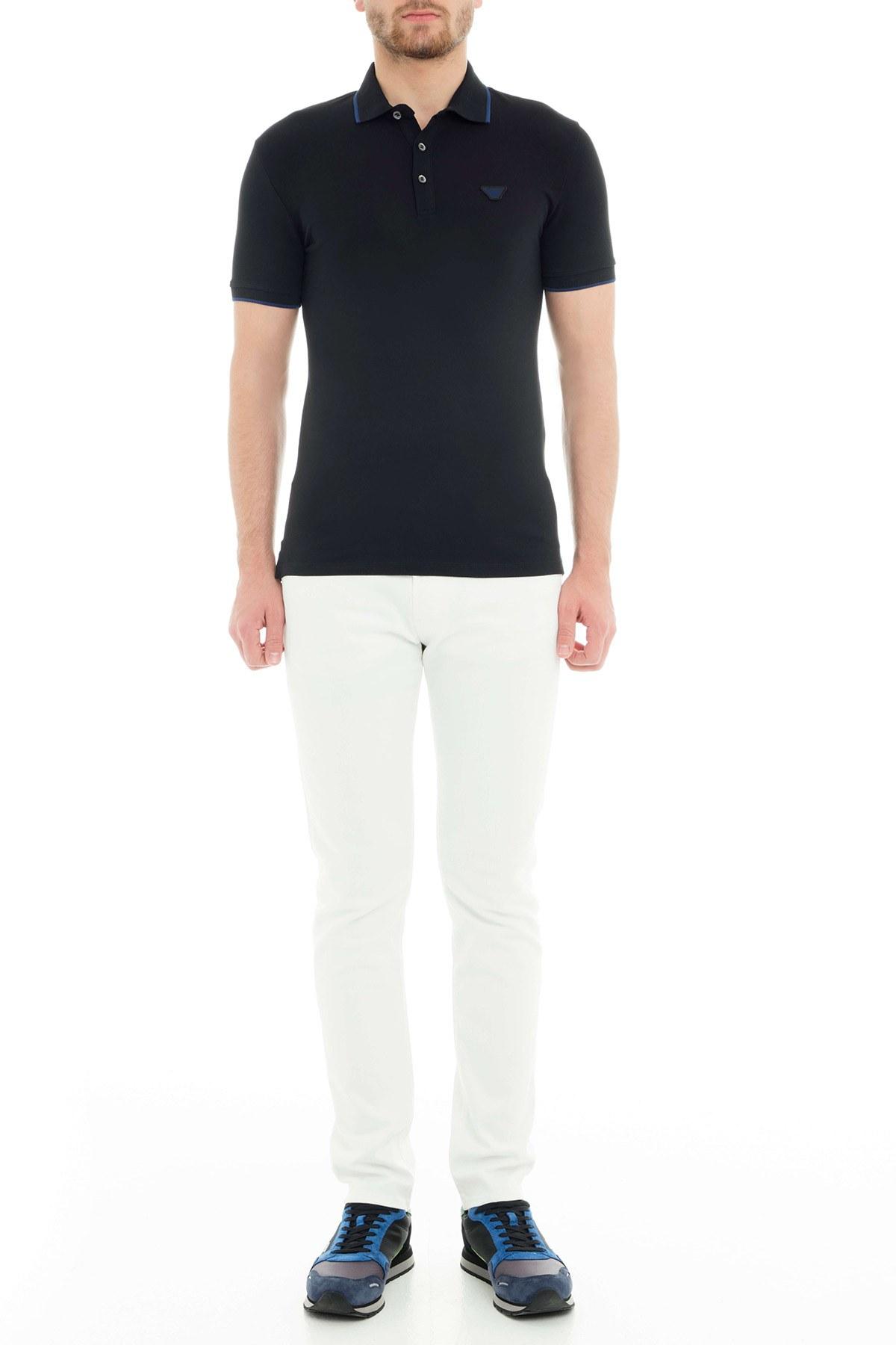 Emporio Armani Erkek T Shirt 6Z1FB6 1J40Z 0999 SİYAH