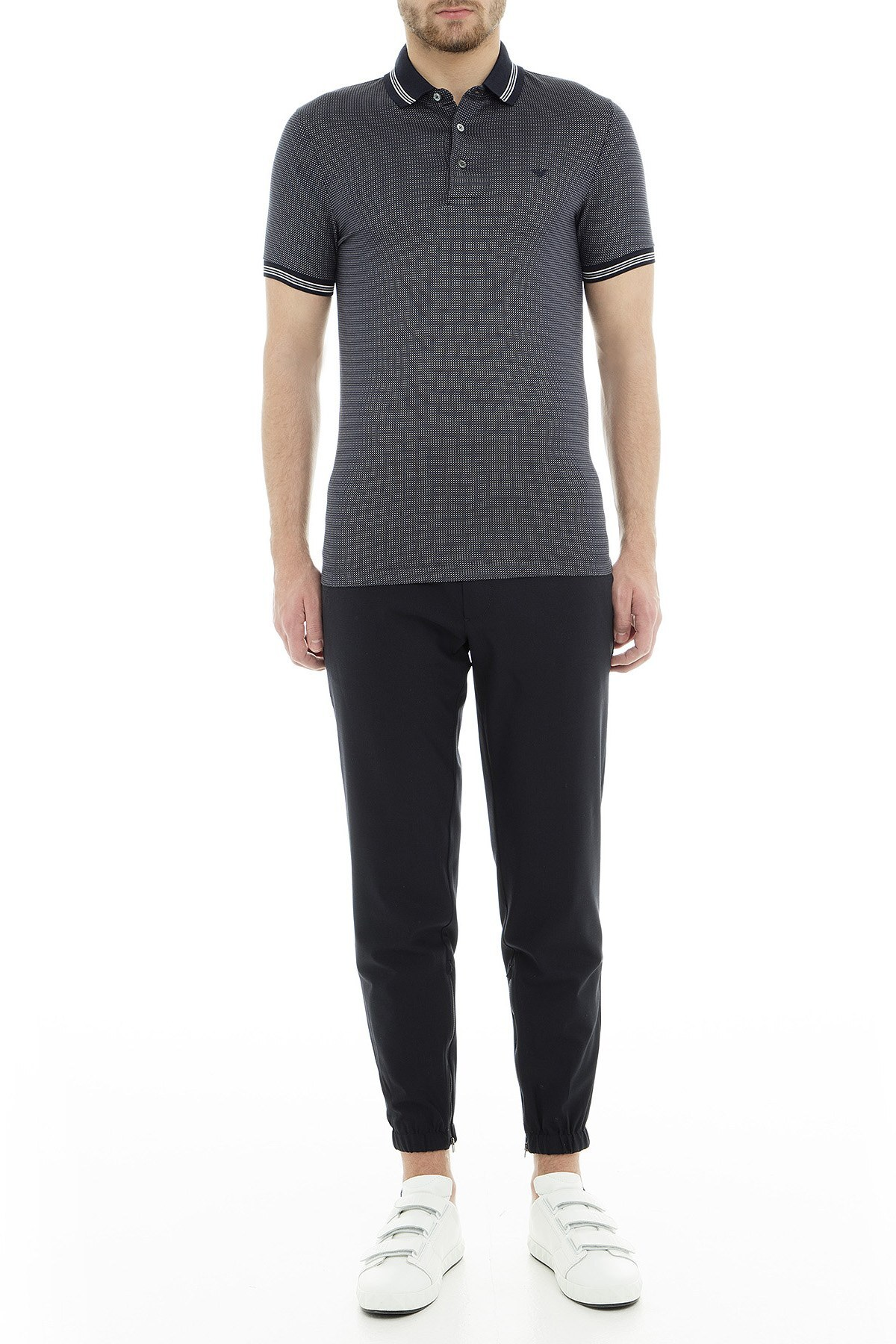 Emporio Armani Erkek T Shirt 6Z1FP3 1JTWZ F960 LACİVERT