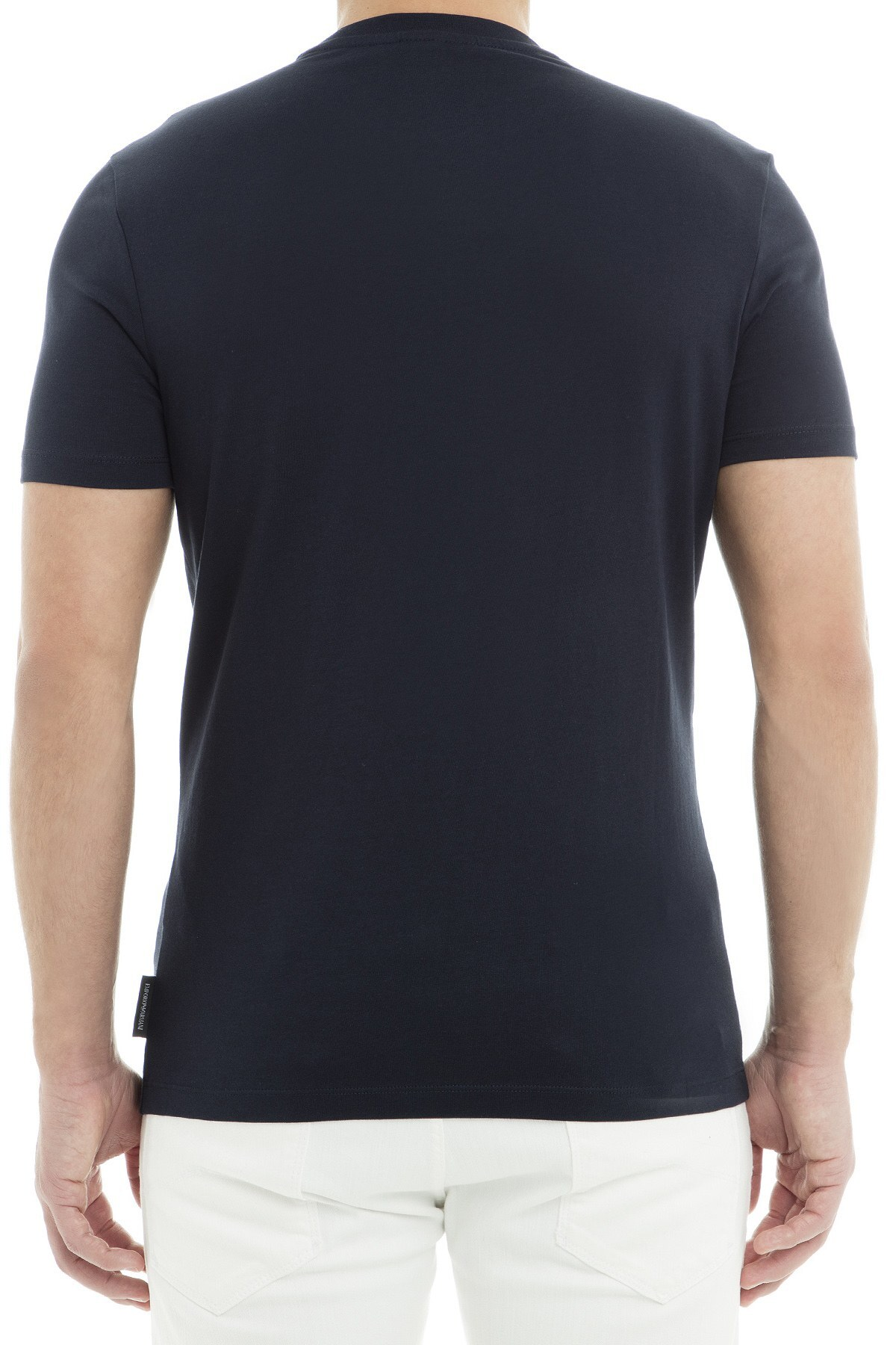 Emporio Armani Erkek T Shirt 6Z1TF5 1J00Z 0922 LACİVERT