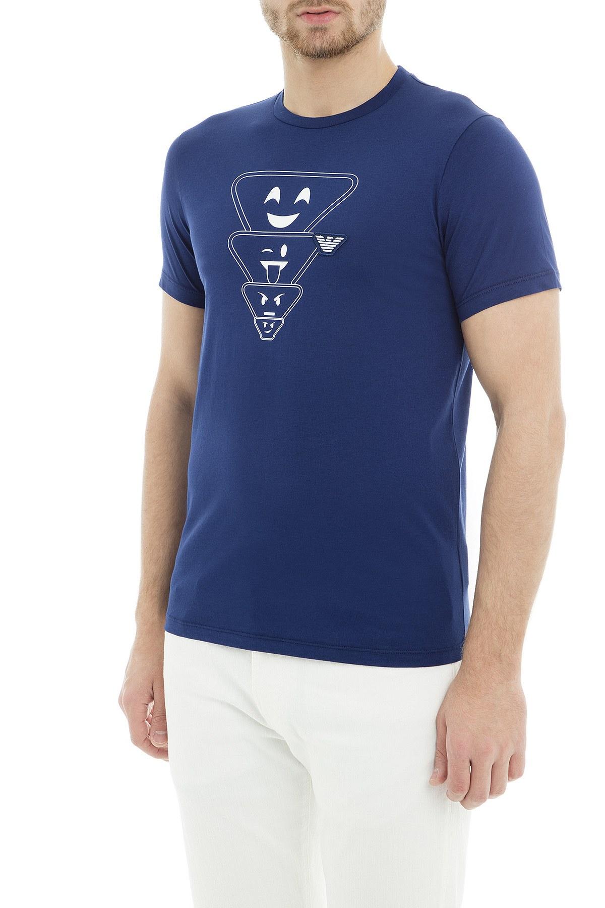 Emporio Armani Erkek T Shirt 6Z1TS2 1JQUZ 0934 SAKS