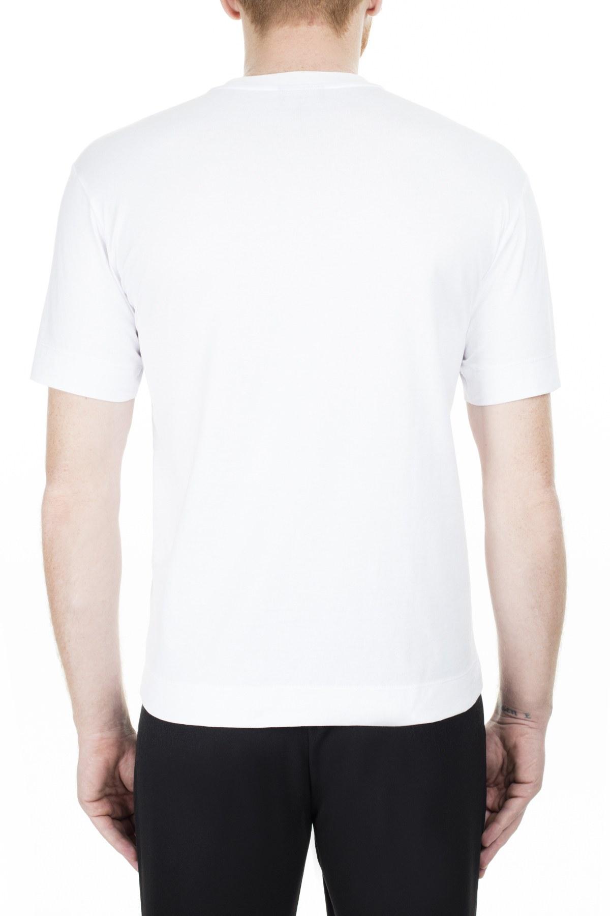 Emporio Armani Erkek T Shirt 8N1T7H 1JCQZ 0100 BEYAZ