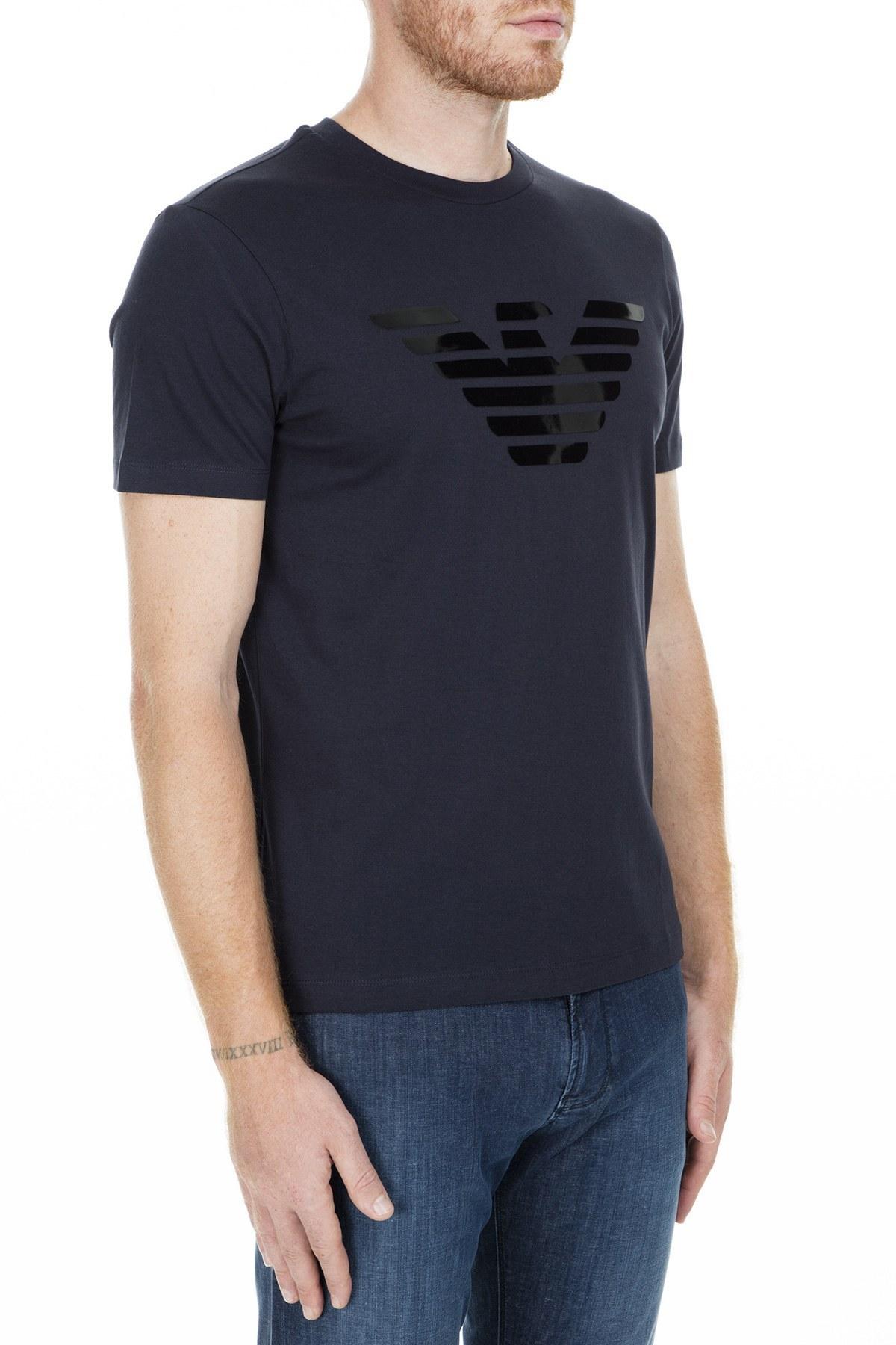 Emporio Armani Erkek T Shirt S 3G1T92 1J00Z 0924 LACİVERT