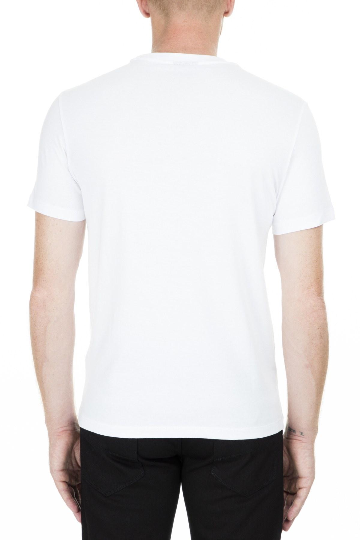Emporio Armani Erkek T Shirt S 3G1TG1 1J00Z 0137 BEYAZ