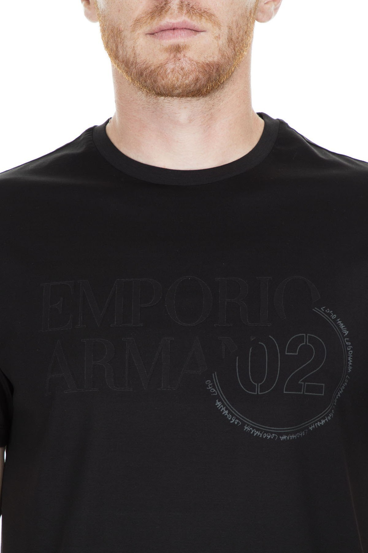 Emporio Armani Erkek T Shirt S 3G1TL1 1JTUZ F063 SİYAH