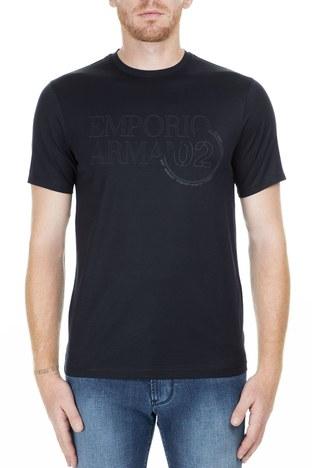 Emporio Armani - Emporio Armani Erkek T Shirt S 3G1TL1 1JTUZ F971 LACİVERT