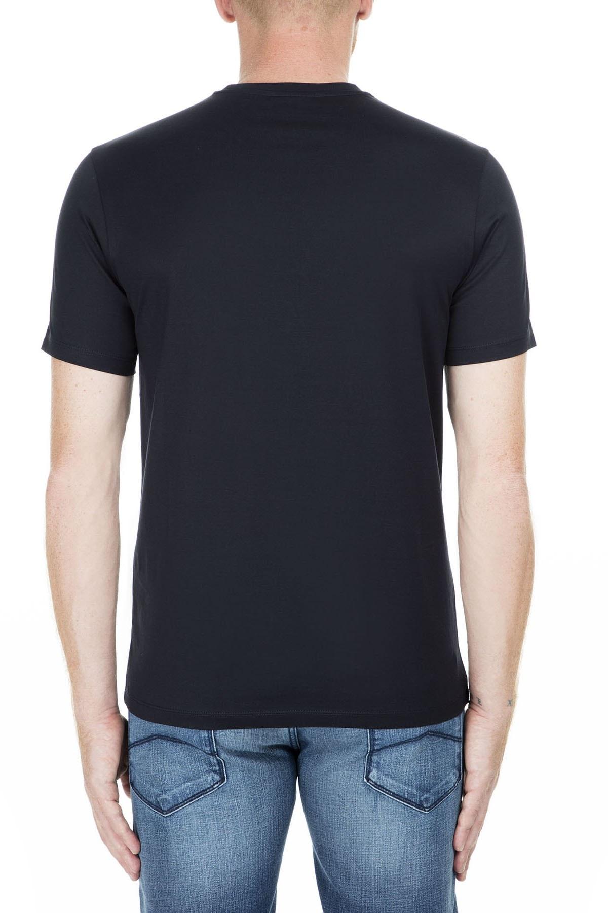 Emporio Armani Erkek T Shirt S 3G1TL1 1JTUZ F971 LACİVERT