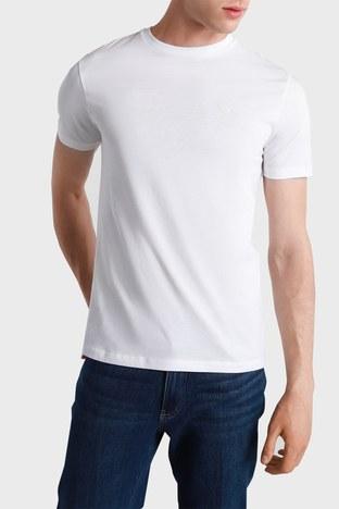 Emporio Armani - Emporio Armani Erkek T Shirt S 3K1TAT 1JSHZ 0100 BEYAZ