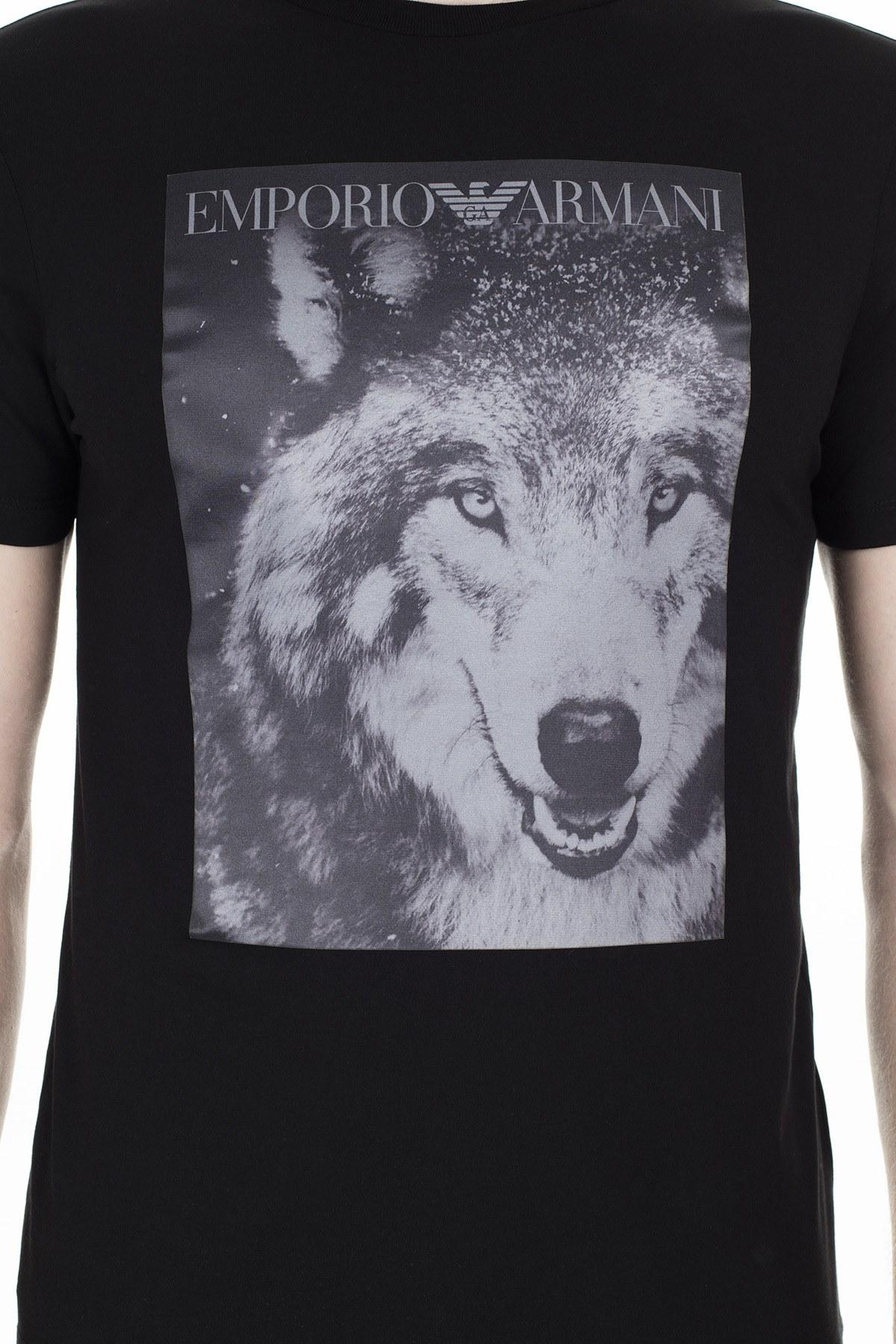 Emporio Armani Erkek T Shirt S 6G1T77 1J19Z 0999 SİYAH