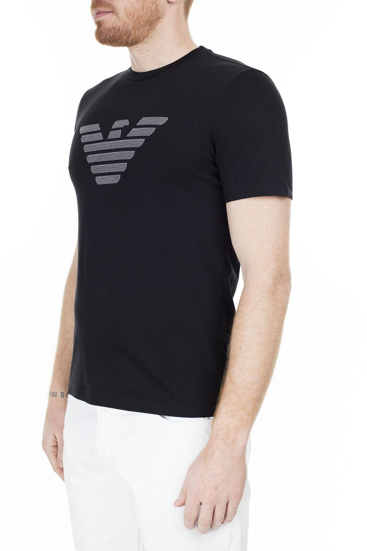 Emporio Armani Erkek T Shirt S 6G1TC0 1J00Z 0999 SİYAH