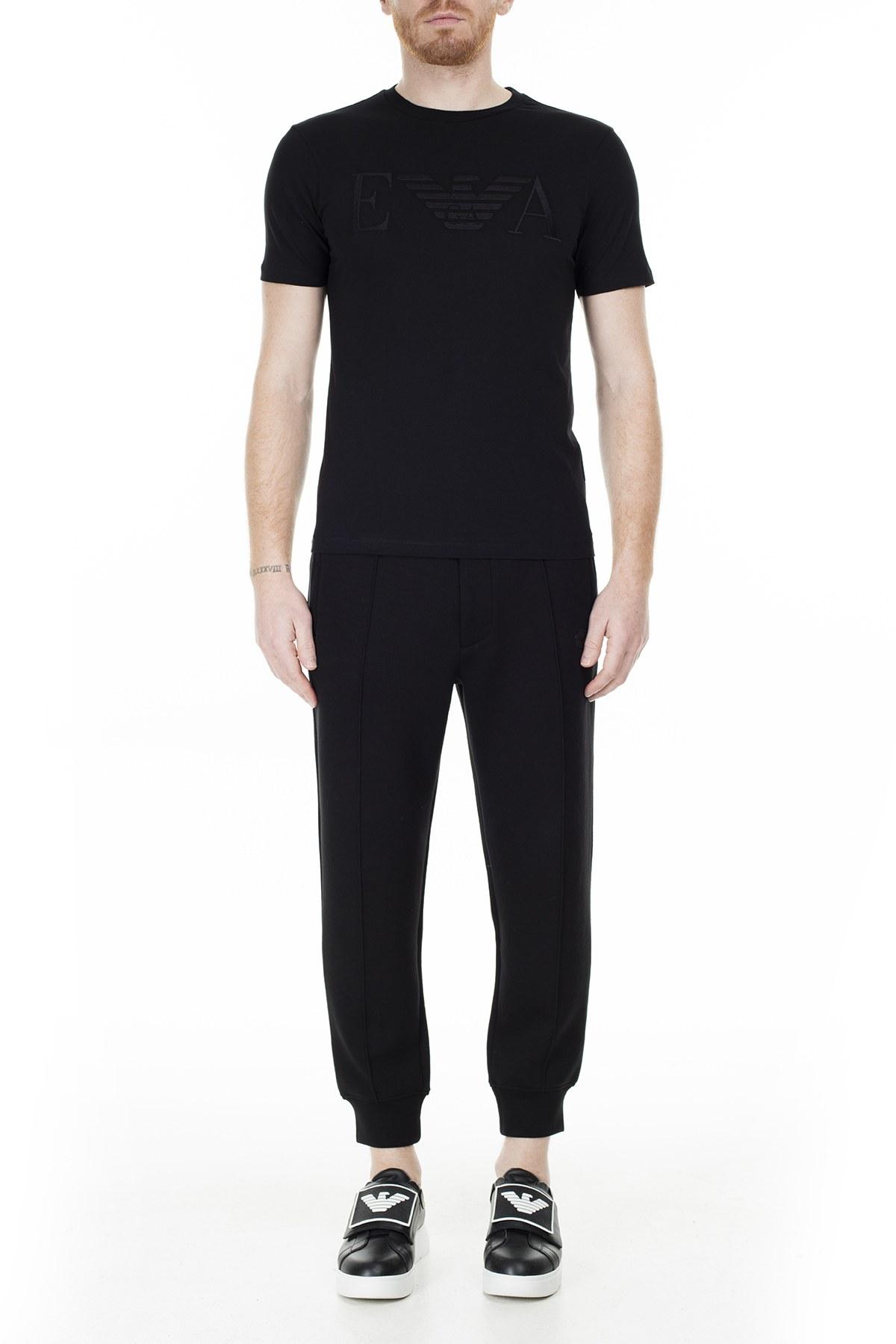 Emporio Armani Erkek T Shirt S 6G1TC2 1J00Z 0999 SİYAH