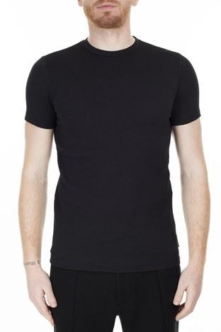 Emporio Armani - Emporio Armani Erkek T Shirt S 6G1TC9 1J82Z 0999 SİYAH