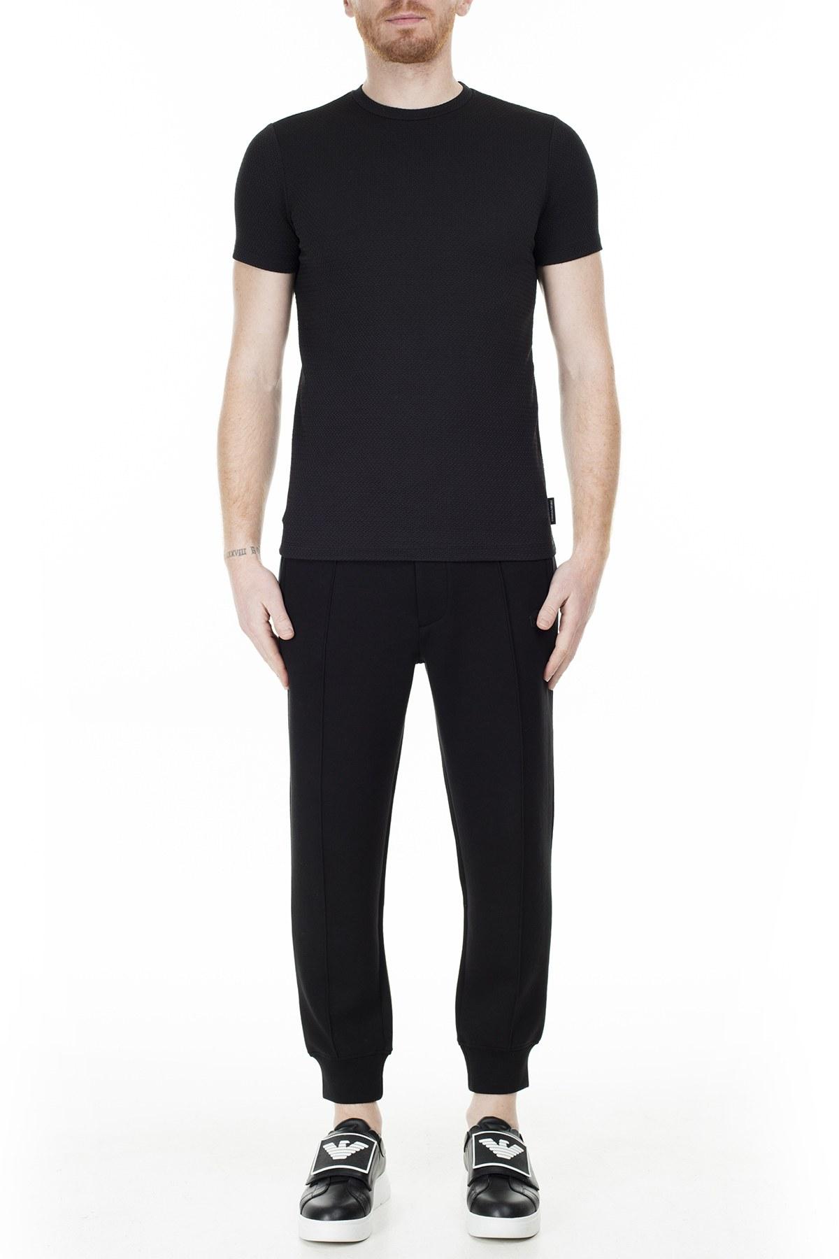 Emporio Armani Erkek T Shirt S 6G1TC9 1J82Z 0999 SİYAH
