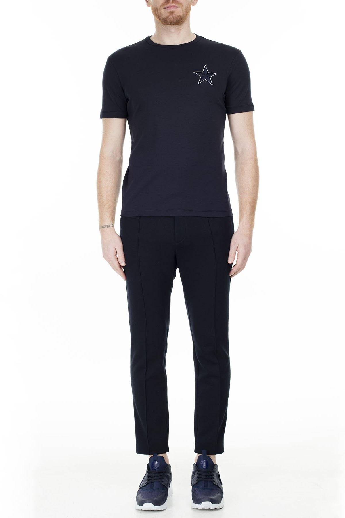 Emporio Armani Erkek T Shirt S 6G1TE3 1JPRZ 0922 LACİVERT