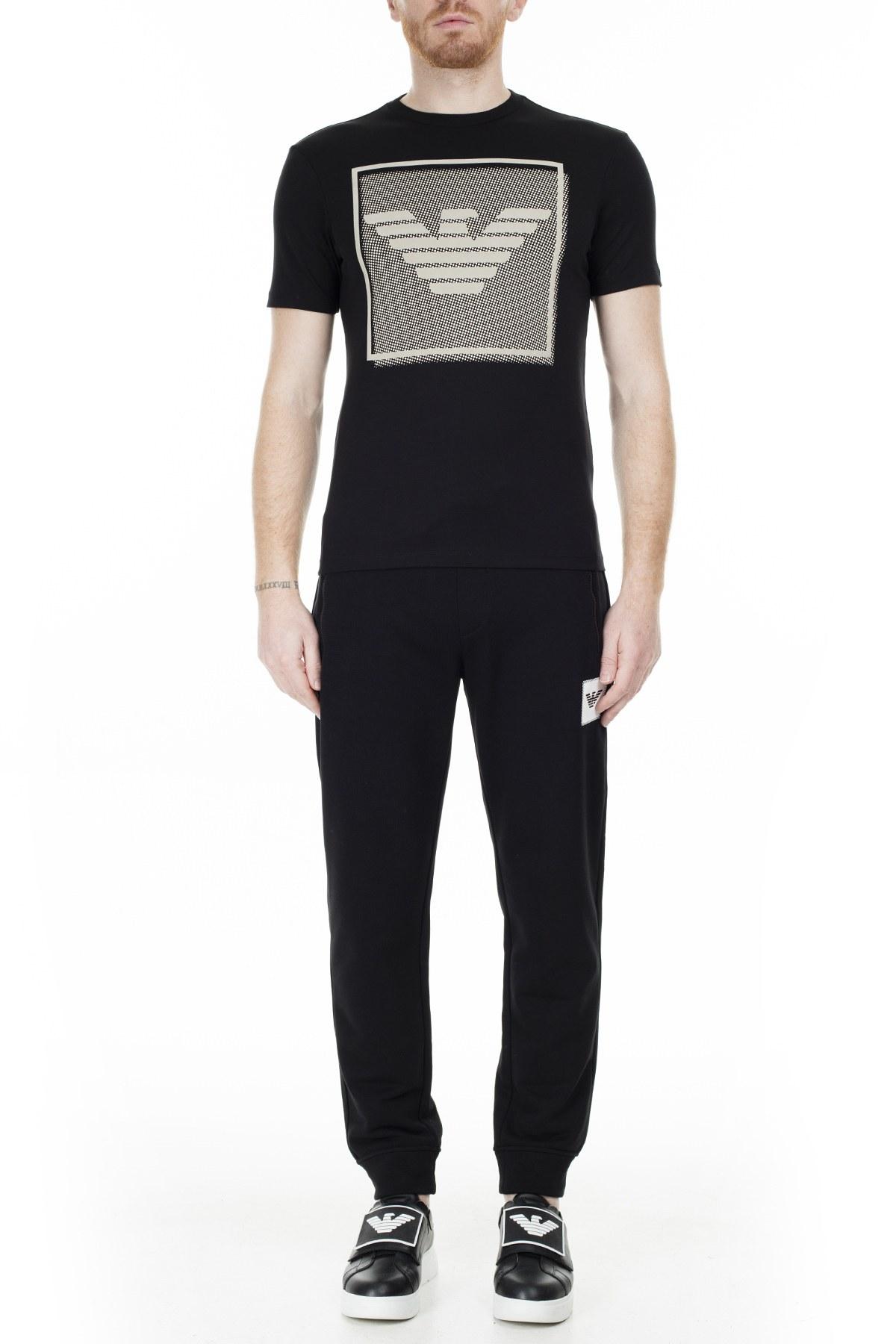 Emporio Armani Erkek T Shirt S 6G1TF5 1JPRZ 0999 SİYAH