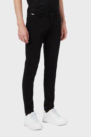 Emporio Armani - Emporio Armani Extra Slim Fit Pamuklu J11 Jeans Erkek Kot Pantolon S 6H1J11 1DHDZ 0005 SİYAH