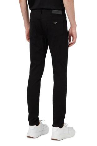 Emporio Armani - Emporio Armani Extra Slim Fit Pamuklu J11 Jeans Erkek Kot Pantolon S 6H1J11 1DHDZ 0005 SİYAH (1)