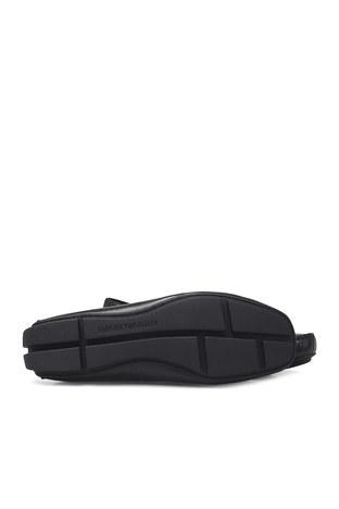 Emporio Armani Hakiki Deri Erkek Ayakkabı X4B125 XM225 D616 SİYAH