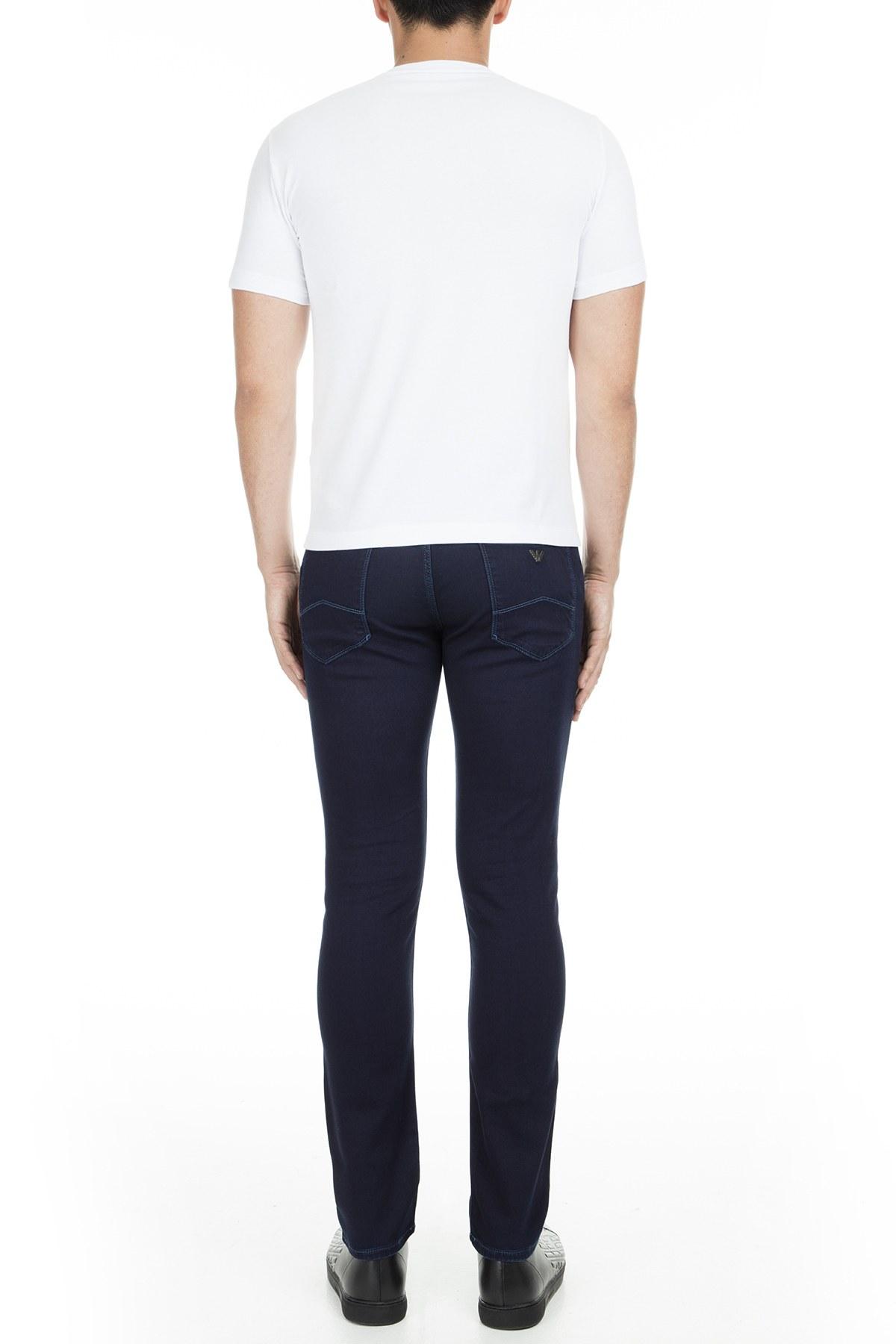 Emporio Armani J06 Jeans Erkek Kot Pantolon 3G1J06 1D0PZ 0942 LACİVERT