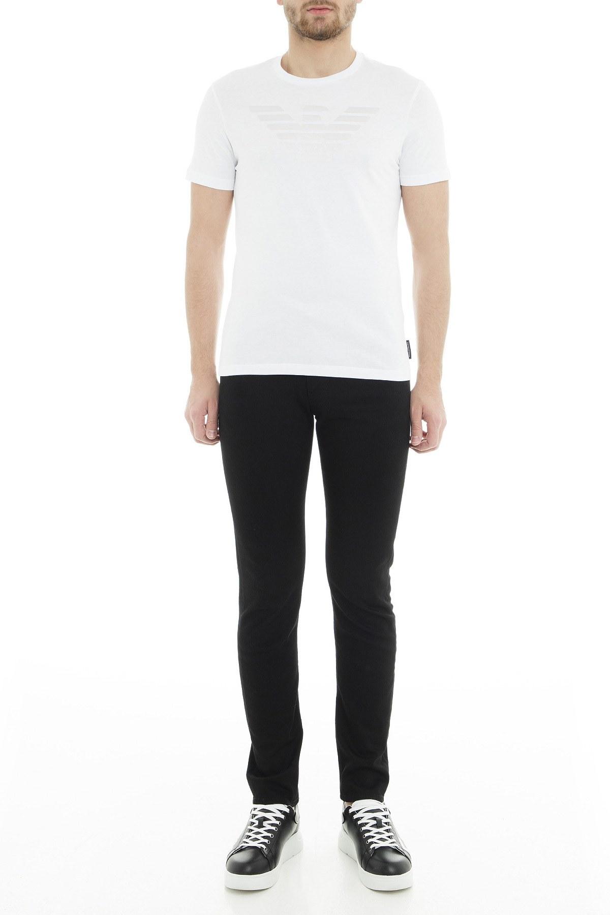 Emporio Armani J06 Jeans Erkek Kot Pantolon 3G1J06 1D2CZ 0999 SİYAH