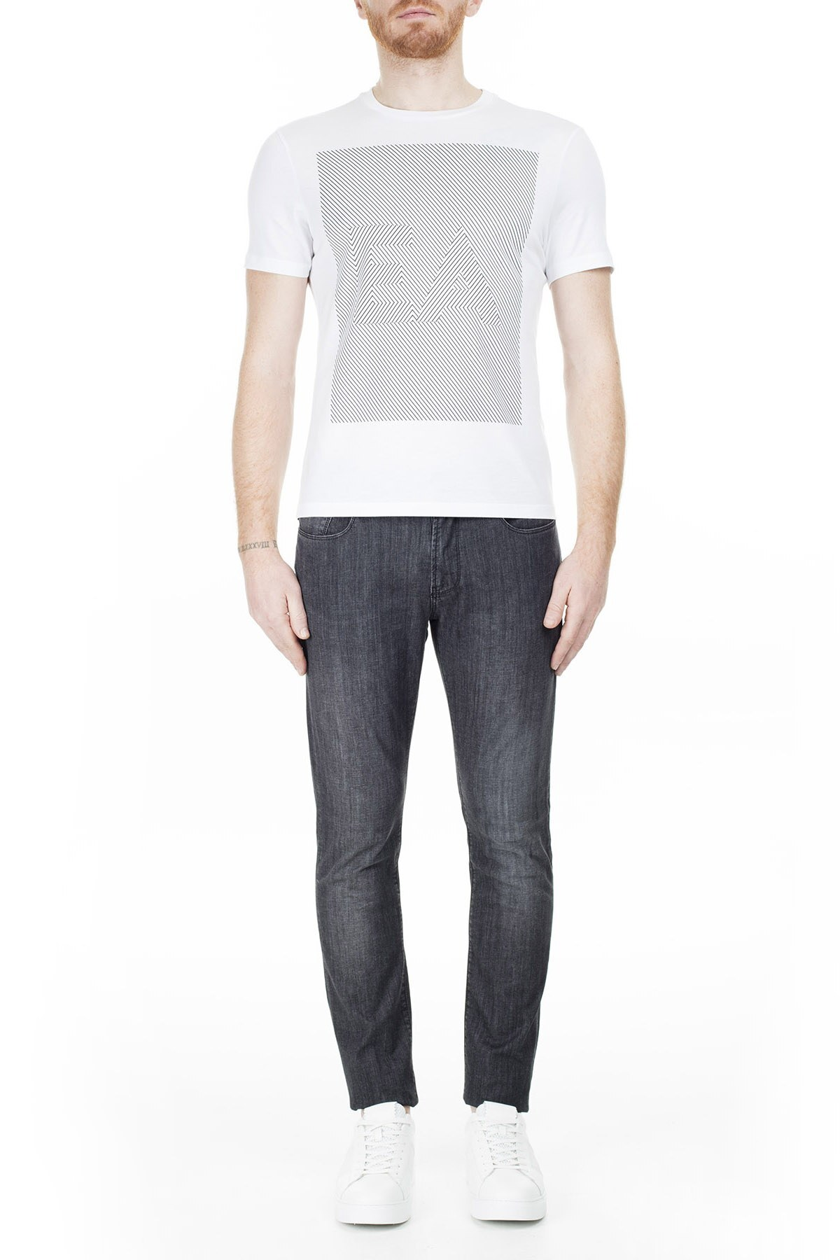 Emporio Armani J06 Jeans Erkek Kot Pantolon 3H1J06 1D5PZ 0006 SİYAH