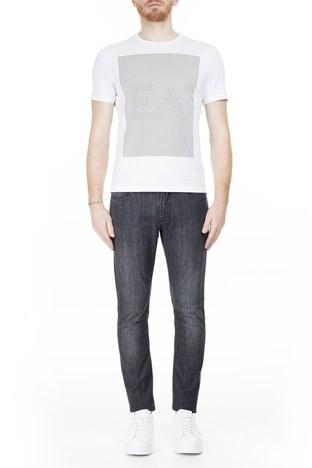Emporio Armani - Emporio Armani J06 Jeans Erkek Kot Pantolon 3H1J06 1D5PZ 0006 SİYAH