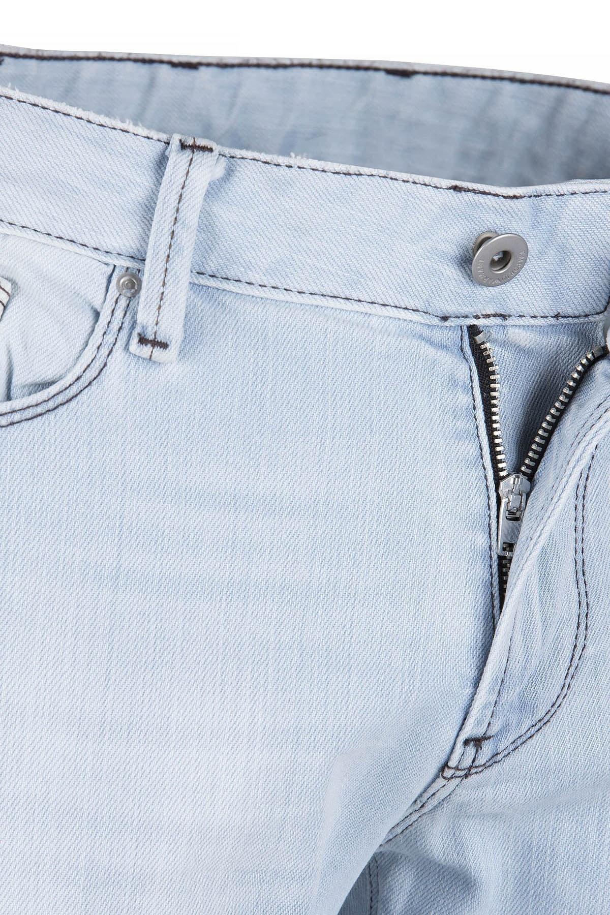 EMPORIO ARMANI J06 JEANS Erkek Kot Pantolon 3Z1J06 1D14Z AÇIK MAVİ