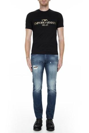 Emporio Armani - Emporio Armani J06 Jeans Erkek Kot Pantolon 6G1J06 1D6YZ 0941 LACİVERT