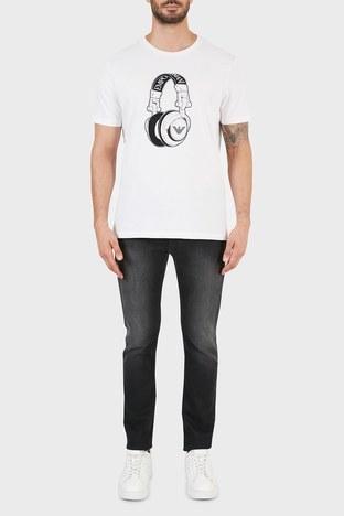 Emporio Armani - Emporio Armani J06 Jeans Erkek Kot Pantolon 6K1J06 1DQ0Z 0005 SİYAH