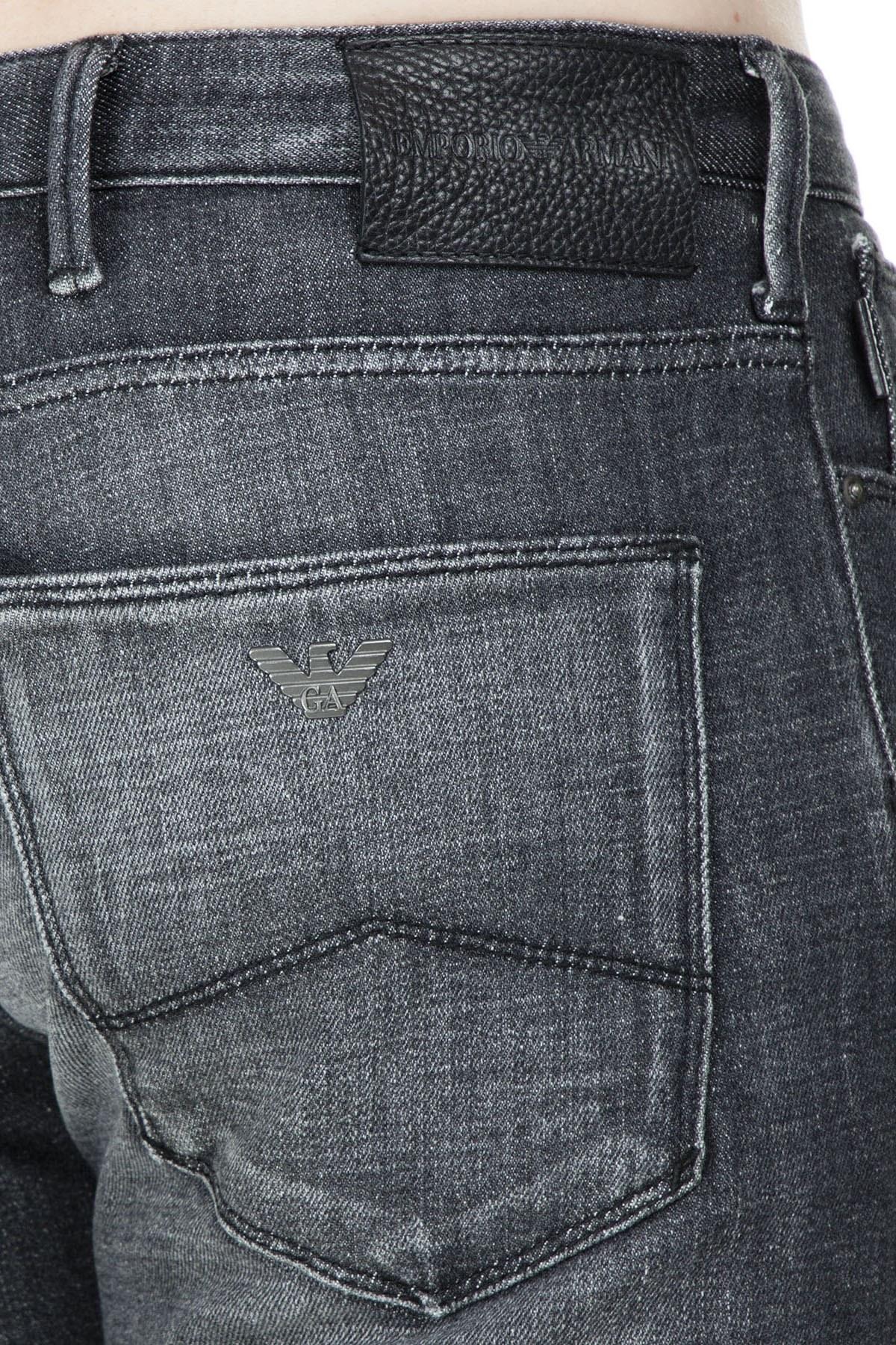 Emporio Armani J06 Jeans Erkek Kot Pantolon S 3G1J06 1D3GZ 0005 SİYAH