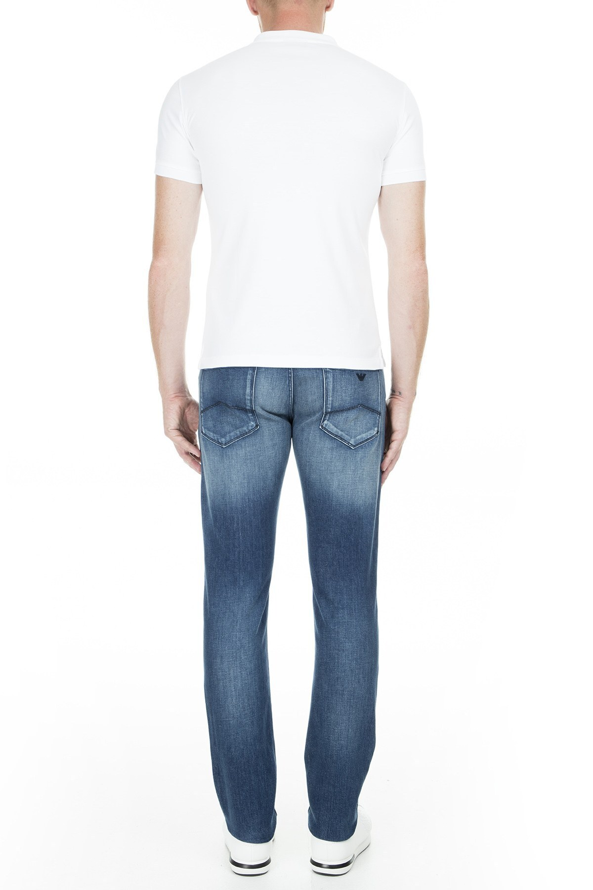 Emporio Armani J06 Jeans Erkek Kot Pantolon S 3G1J06 1D3ZZ 941 LACİVERT
