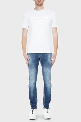 Emporio Armani - Emporio Armani J06 Jeans Erkek Kot Pantolon S 3G1J06 1D5MZ 941 LACİVERT