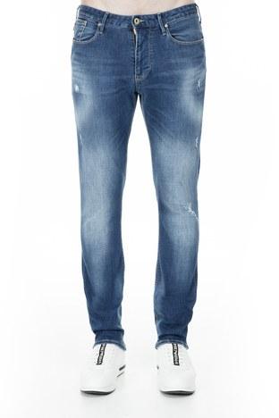 Emporio Armani - Emporio Armani J06 Jeans Erkek Kot Pantolon S 3G1J06 1D5MZ 941 LACİVERT (1)