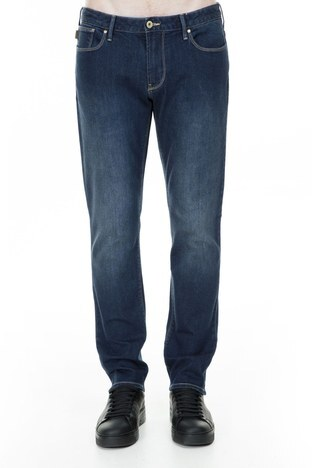 Emporio Armani - Emporio Armani J06 Jeans Erkek Kot Pantolon S 3G1J06 1DLRZ 941 LACİVERT (1)
