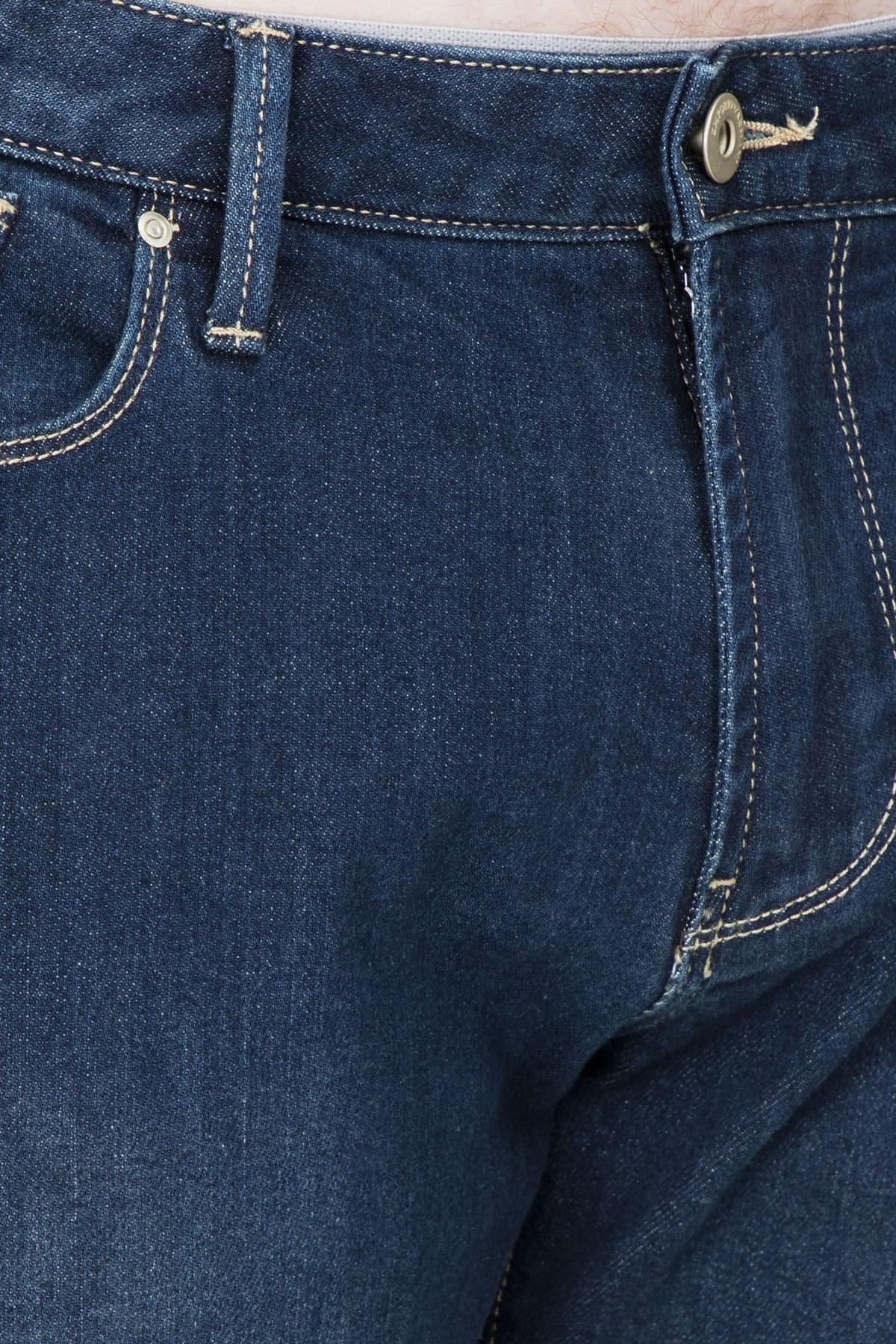Emporio Armani J06 Jeans Erkek Kot Pantolon S 3G1J06 1DLRZ 941 LACİVERT