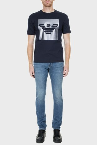 Emporio Armani - Emporio Armani J06 Jeans Erkek Kot Pantolon S 3G1J06 1DLRZ 942 KOYU MAVİ
