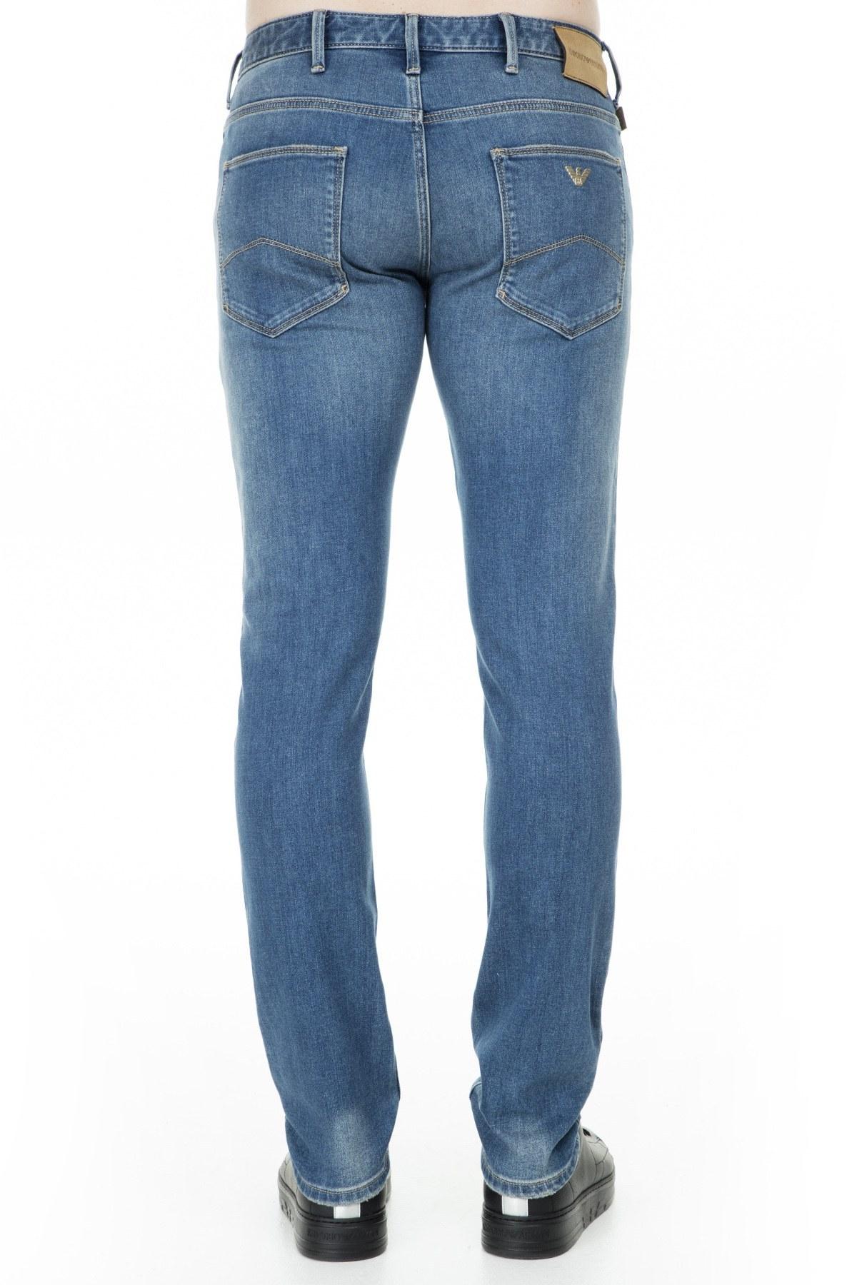 Emporio Armani J06 Jeans Erkek Kot Pantolon S 3G1J06 1DLRZ 942 KOYU MAVİ
