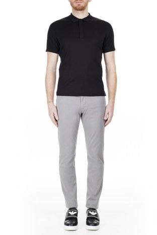 Emporio Armani - Emporio Armani J06 Jeans Erkek Pamuklu Pantolon 3H1J06 1N4ZZ 0653 GRİ