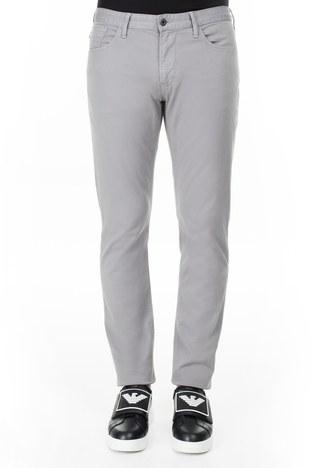 Emporio Armani - Emporio Armani J06 Jeans Erkek Pamuklu Pantolon 3H1J06 1N4ZZ 0653 GRİ (1)