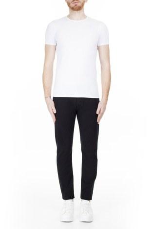 Emporio Armani - Emporio Armani J06 Jeans Erkek Pamuklu Pantolon 3H1J06 1N4ZZ 0999 SİYAH