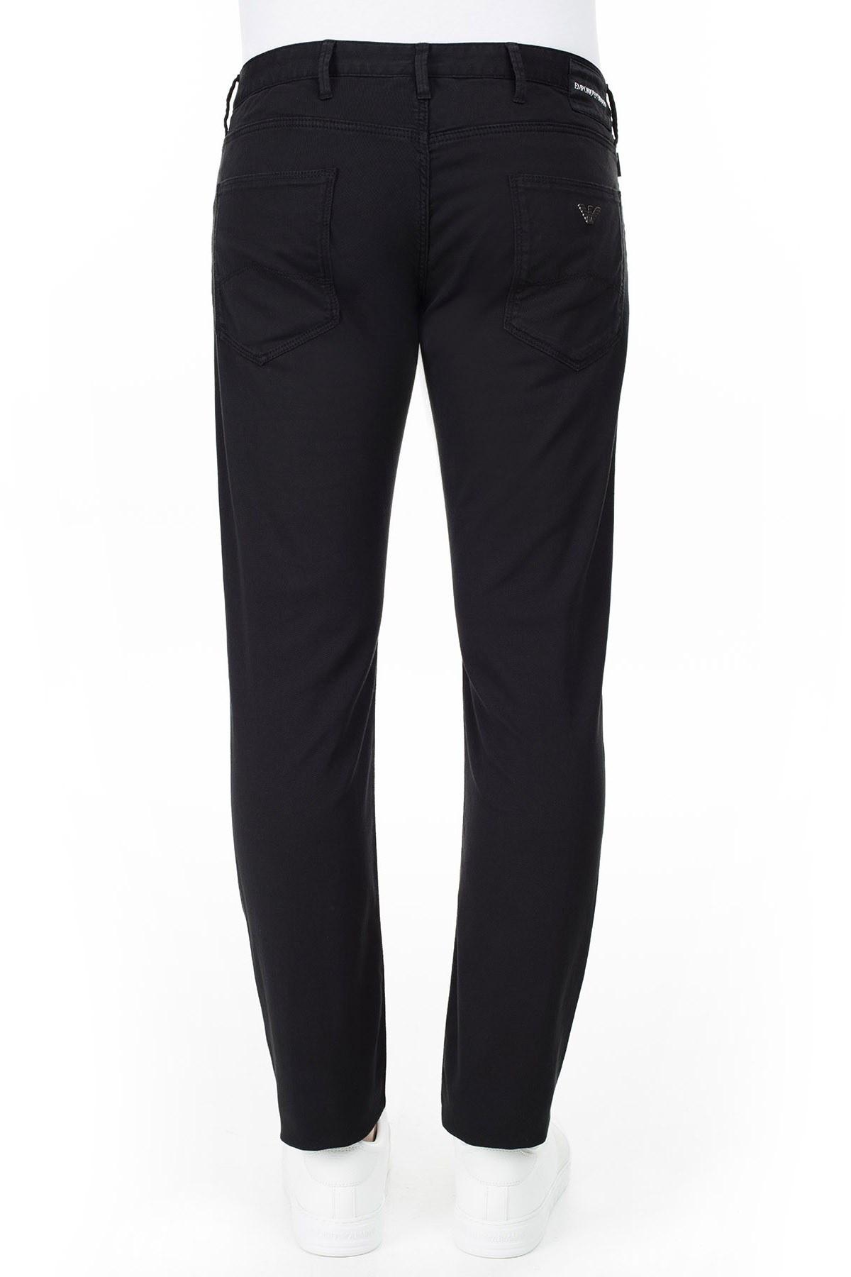 Emporio Armani J06 Jeans Erkek Pamuklu Pantolon 3H1J06 1N4ZZ 0999 SİYAH