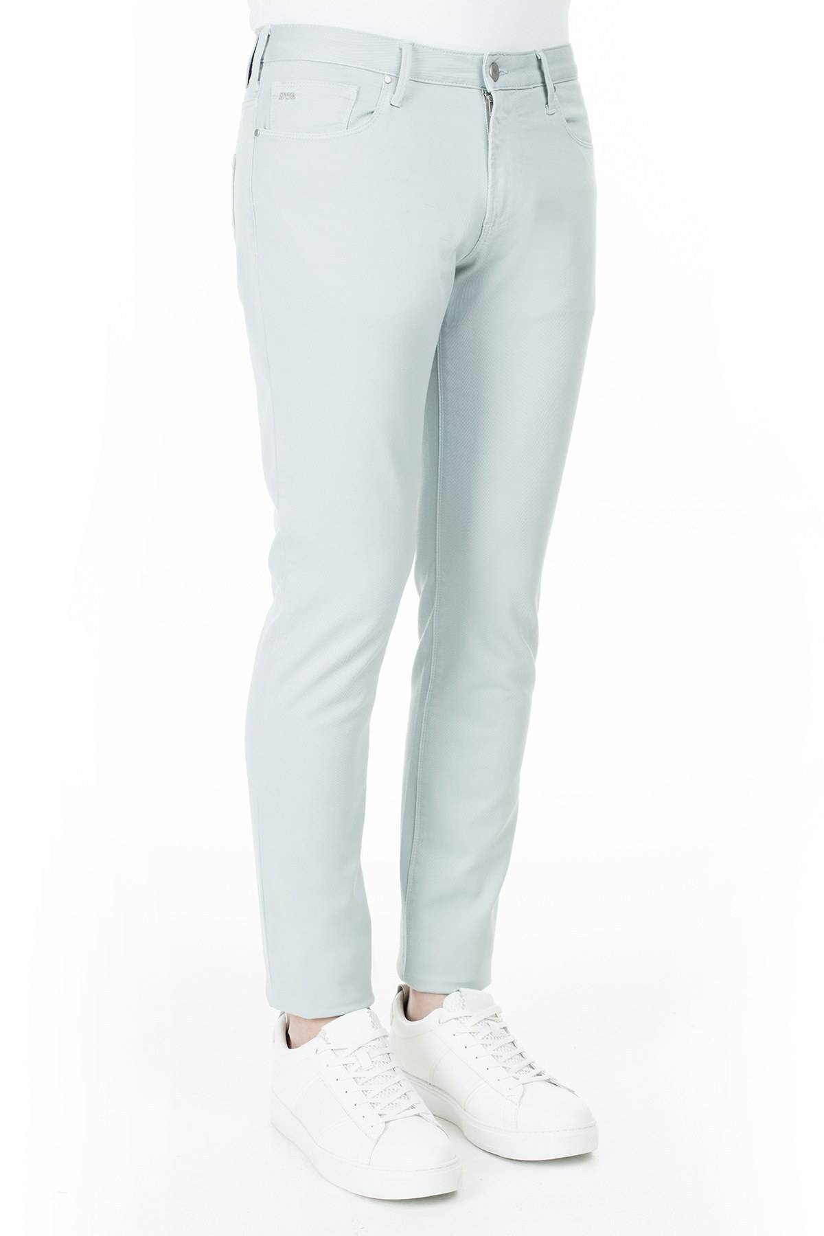 Emporio Armani J06 Jeans Erkek Pamuklu Pantolon 3H1J06 1N8XZ 0756 AÇIK MAVİ