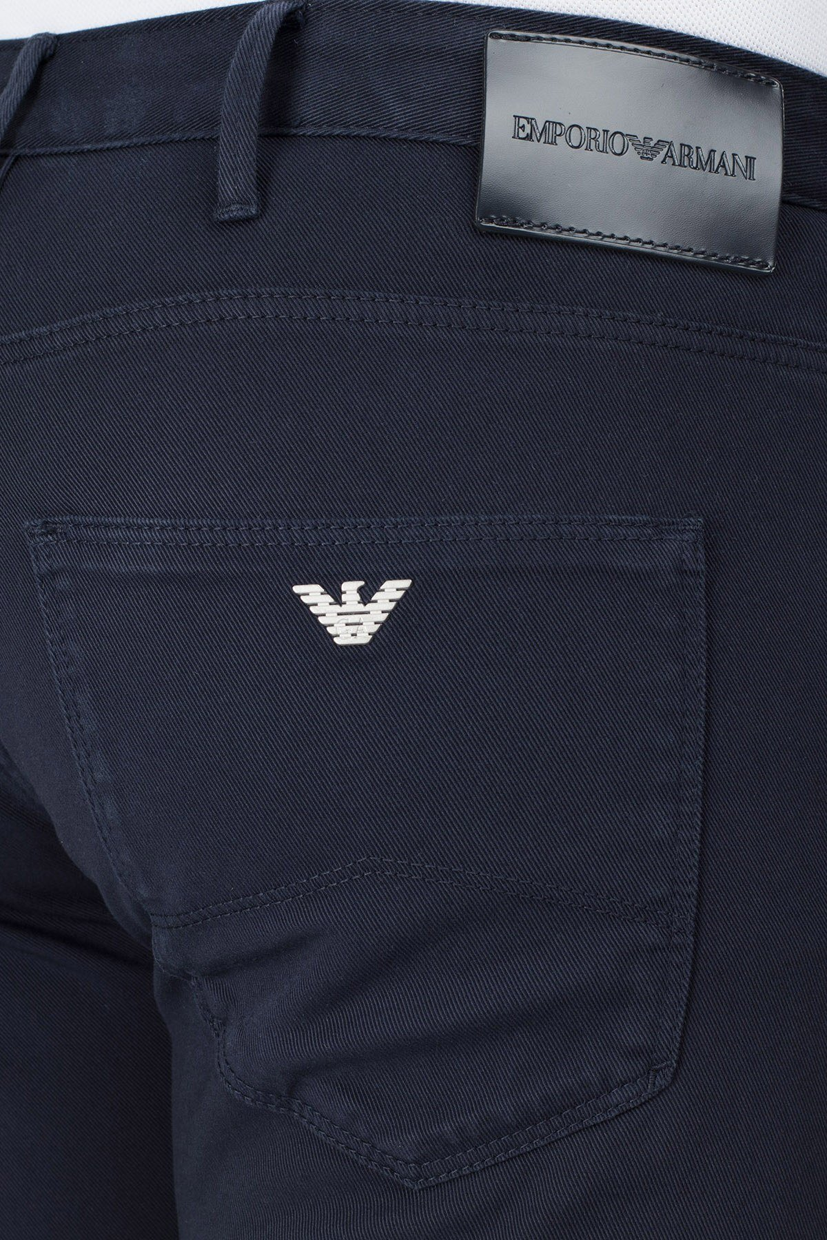 Emporio Armani J06 Jeans Erkek Pamuklu Pantolon 3H1J06 1N8XZ 0922 LACİVERT